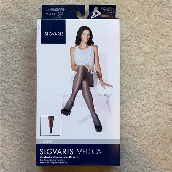 Brand New Sigvaris Compression Stocking size MS